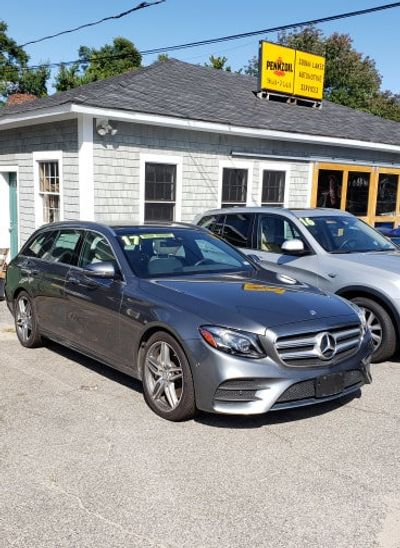 2017 Mercedes-Benz E-Class E 400 Sport 4MATIC Wagon Sedan