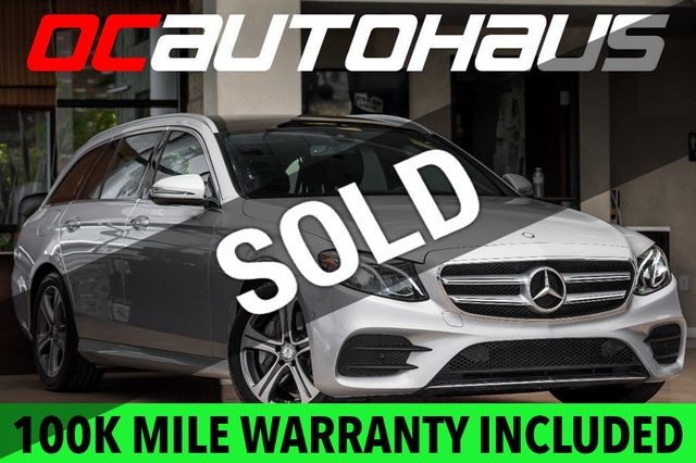 2017 Used Mercedes-Benz E-Class E 400 Sport 4MATIC Wagon at OC Autohaus  Serving Westminster, CA, IID 17486604