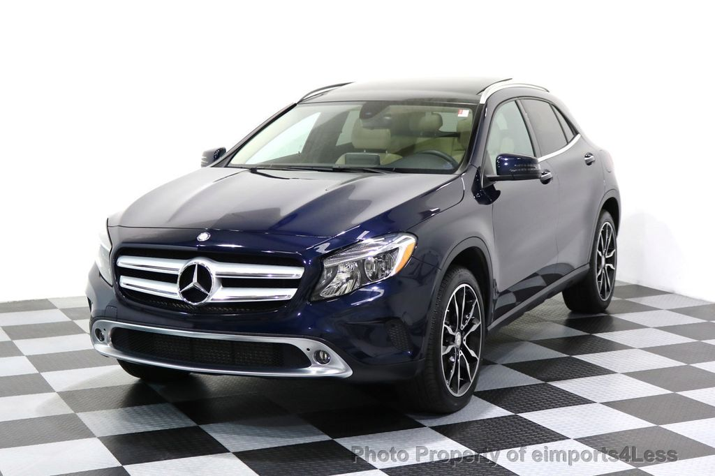 2017 Mercedes-Benz GLA CERTIFIED GLA250 4Matic AWD BLIND SPOT NAVIGATION - 17143760 - 0