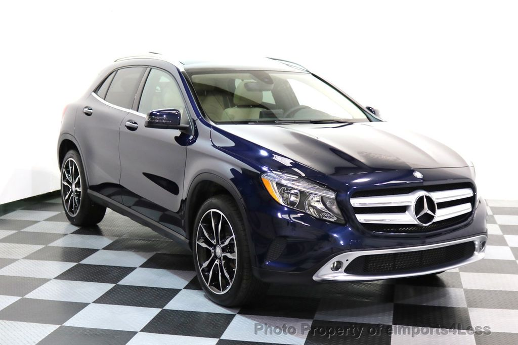 2017 Mercedes-Benz GLA CERTIFIED GLA250 4Matic AWD BLIND SPOT NAVIGATION - 17143760 - 17