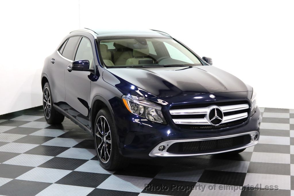 2017 Mercedes-Benz GLA CERTIFIED GLA250 4Matic AWD BLIND SPOT NAVIGATION - 17143760 - 1