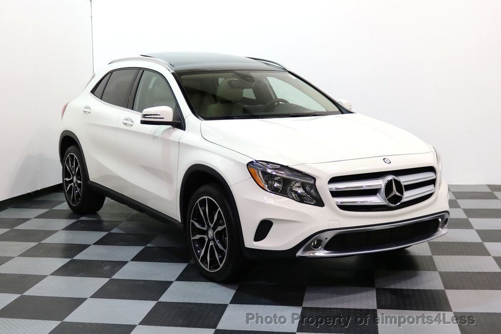 2017 Mercedes-Benz GLA CERTIFIED GLA250 4Matic AWD BLIND SPOT PANO NAV  - 17179686 - 1
