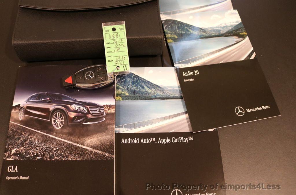 2017 Mercedes-Benz GLA CERTIFIED GLA250 4Matic AWD BLIND SPOT PANO NAV  - 17179686 - 34