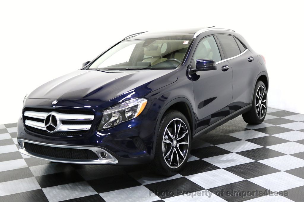 2017 used mercedes benz gla certified gla250 4matic awd for Mercedes benz certified used cars