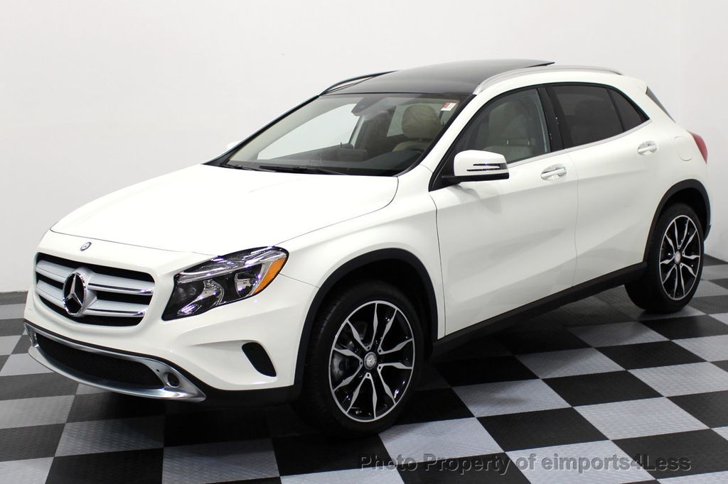 2017 used mercedes-benz gla certified gla250 4matic awd camera