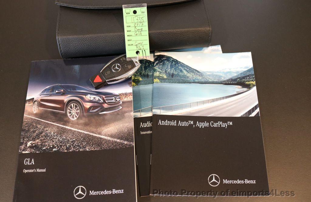 2017 Mercedes-Benz GLA CERTIFIED GLA250 4MATIC AWD CAMERA NAVIGATION - 16902444 - 41