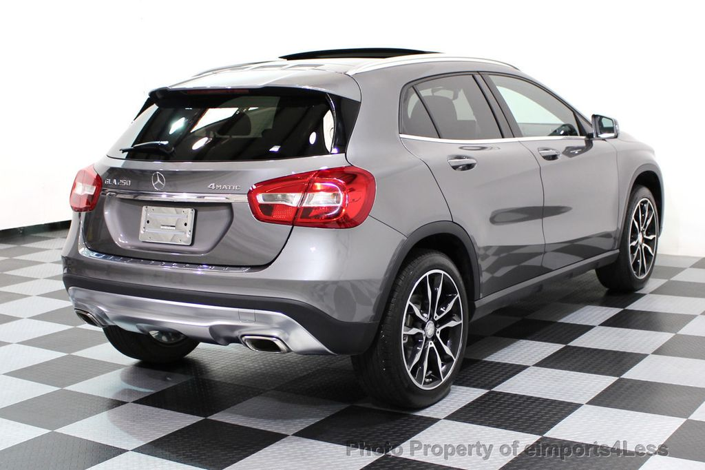 2017 Mercedes-Benz GLA CERTIFIED GLA250 4MATIC AWD CAMERA NAVIGATION - 16902444 - 48