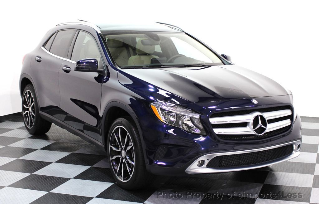 2017 Used Mercedes Benz Gla Certified Gla250 4matic Awd Panorama Cam