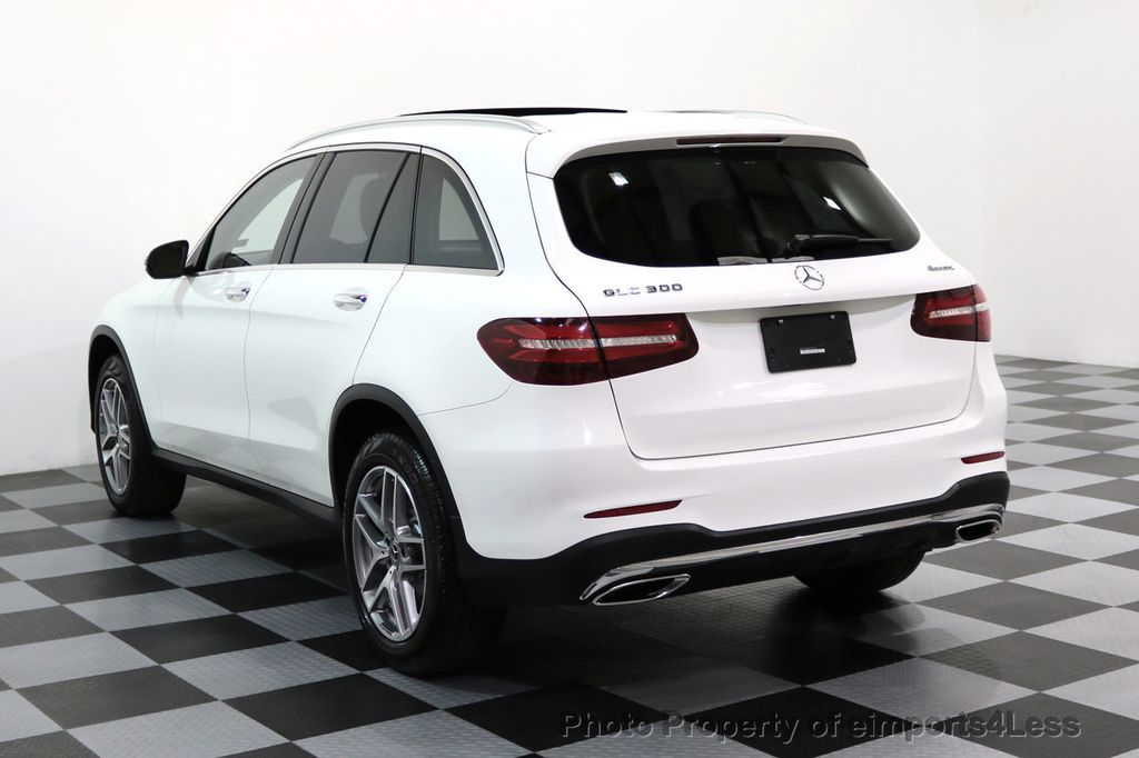 2017 used mercedes-benz certified glc300 4matic amg sport p2 awd