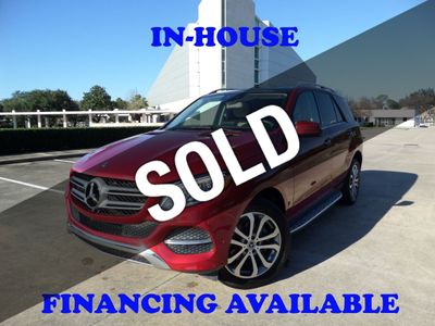 2017 Mercedes-Benz GLE 2017 MERCEDES BENZ GLE 350 PANORAMIC ROOF NAVI 360 CAMERA LOADED SUV