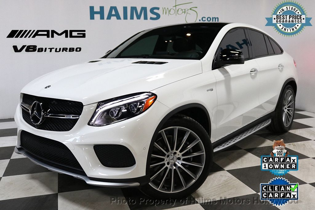 2017 Mercedes-Benz GLE AMG GLE 43 4MATIC Coupe - 18296670