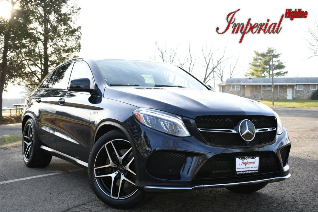 2017 Amg Gle 43 Coupe Mercedes Benz >> 2017 Used Mercedes Benz Amg Gle 43 4matic Coupe At Imperial Highline Serving Manassas Va Iid 19639041