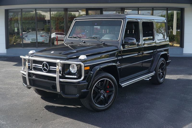 2017 Mercedes-Benz  AMG G 63 4MATIC SUV - Click to see full-size photo viewer