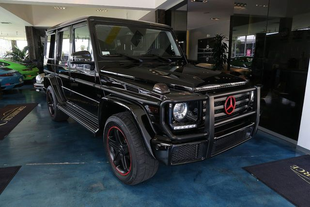 2017 Mercedes-Benz G-Class G 550 4MATIC SUV - Click to see full-size photo viewer