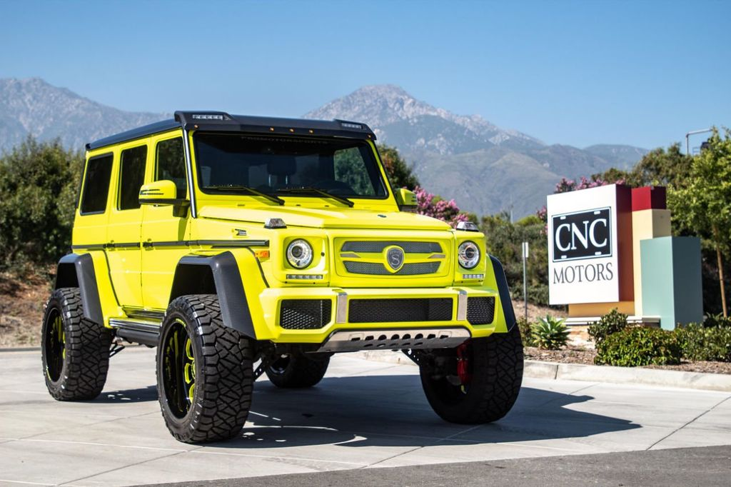 G Wagon 4x4 Price >> 2017 Used Mercedes Benz G Class G 550 4x4 Squared Suv At Cnc Motors Inc Serving Upland Ca Iid 19050534