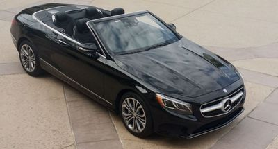 2017 Mercedes-Benz S550 Cabriolet  - Click to see full-size photo viewer