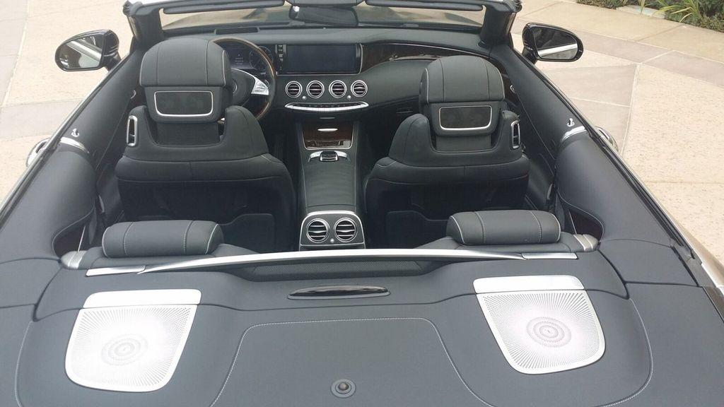 2017 Mercedes-Benz S550 Cabriolet S550 CABRIOLET - 16991896 - 11