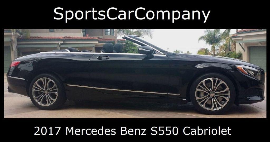 2017 Mercedes-Benz S550 Cabriolet S550 CABRIOLET - 16991896 - 1