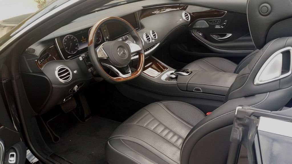 2017 Mercedes-Benz S550 Cabriolet S550 CABRIOLET - 16991896 - 18