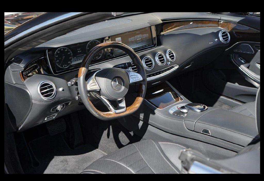 2017 Mercedes-Benz S550 Cabriolet S550 CABRIOLET - 16991896 - 21