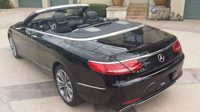 2017 Mercedes-Benz S550 Cabriolet S550 CABRIOLET - Click to see full-size photo viewer