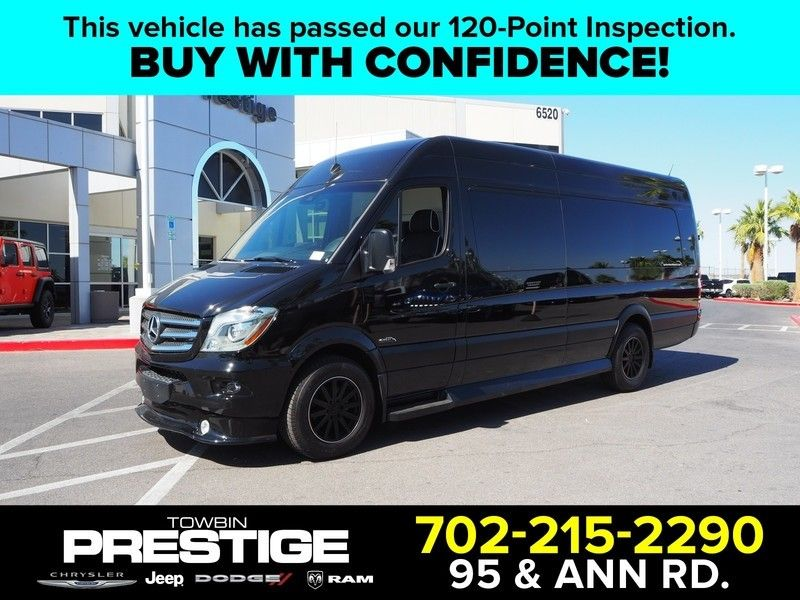 2017 Mercedes-Benz Sprinter Cargo Van  - 17630911 - 0