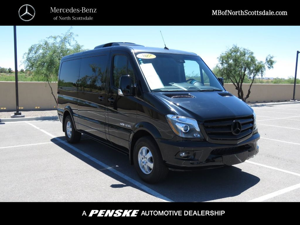 2017 Used Mercedes-Benz Sprinter Passenger Van *** CUSTOM EXECUTIVE LIMO  *** at BMW North Scottsdale Serving Phoenix, AZ, IID 19063761