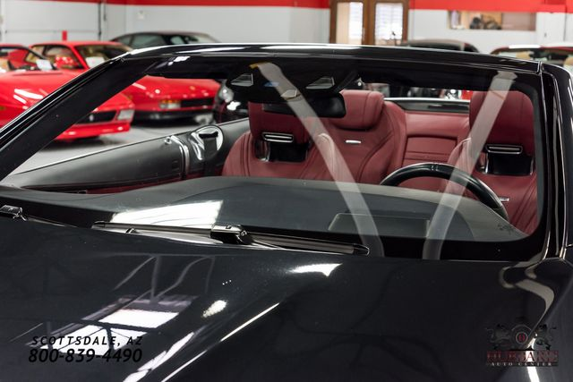 2017 Mercedes-Benz  AMG S 63 4MATIC Cabriolet - Click to see full-size photo viewer