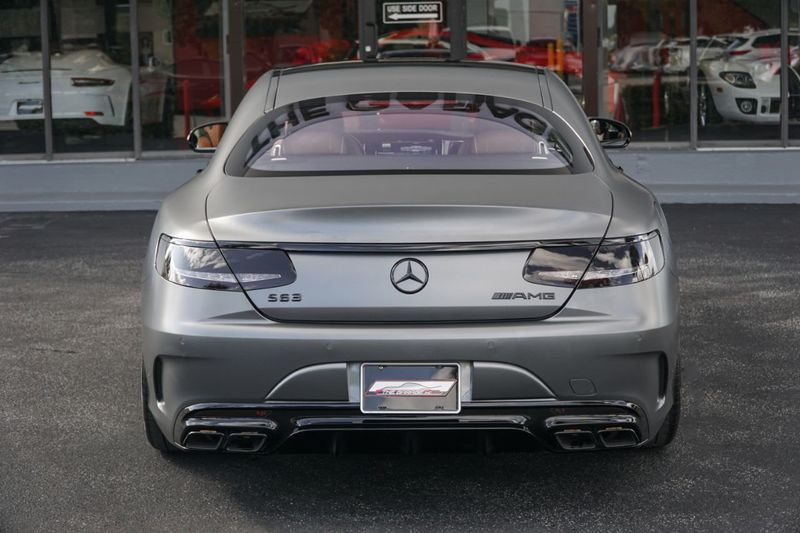 2017 Mercedes-Benz  AMG S 63 4MATIC Coupe - Click to see full-size photo viewer