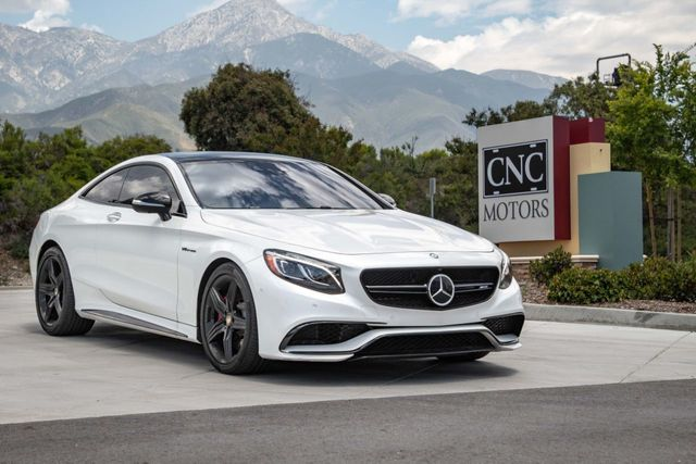 2017 Used Mercedes Benz Amg S 63 4matic Coupe At Cnc Motors Inc Serving Upland Ca Iid 18971725