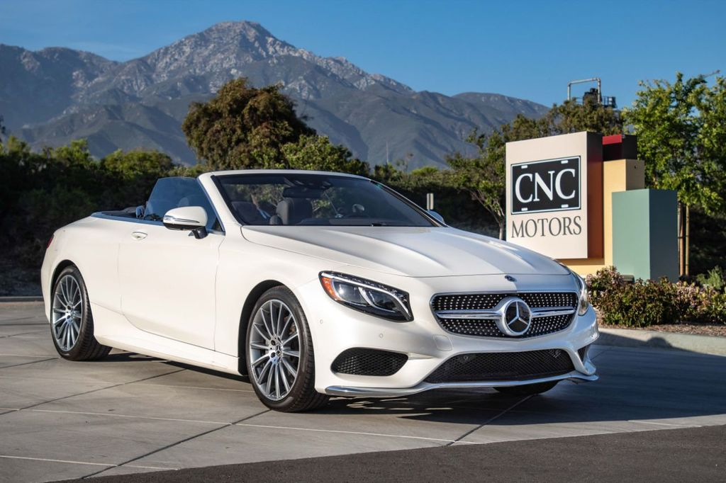 Mercedes Benz Used >> 2017 Used Mercedes Benz S Class S 550 Cabriolet At Cnc Motors Inc Serving Upland Ca Iid 18554810