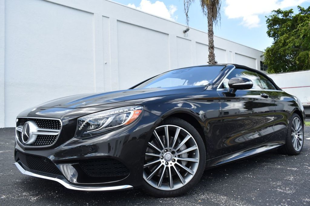 2017 Mercedes Benz S Cl S550 Convertible P1 Sport Warmth