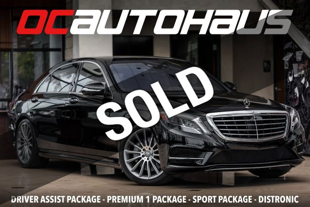 2017 Used Mercedes Benz S Class S 550 Sedan At Oc Autohaus Serving Westminster Ca Iid 19082518