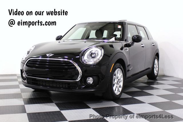 2017 Used Mini Cooper Clubman Certified Clubman Awd 6 Speed Back Up