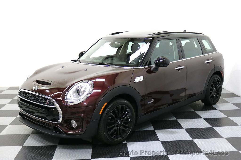 2017 MINI Cooper S Clubman CERTIFIED CLUBMAN S ALL4 AWD LEATHER CAMERA NAVI - 17736547 - 0
