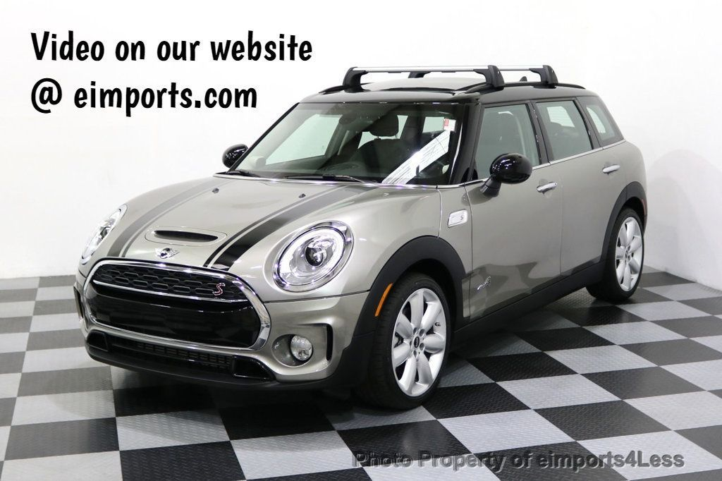 2017 MINI Cooper S Clubman CERTIFIED CLUBMAN S ALL4 AWD SPORT LEATHER PANO LED - 17932971 - 0