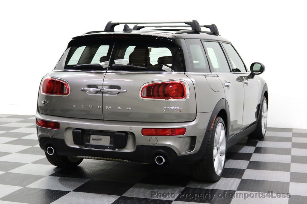 2017 MINI Cooper S Clubman CERTIFIED CLUBMAN S ALL4 AWD SPORT LEATHER PANO LED - 17932971 - 31