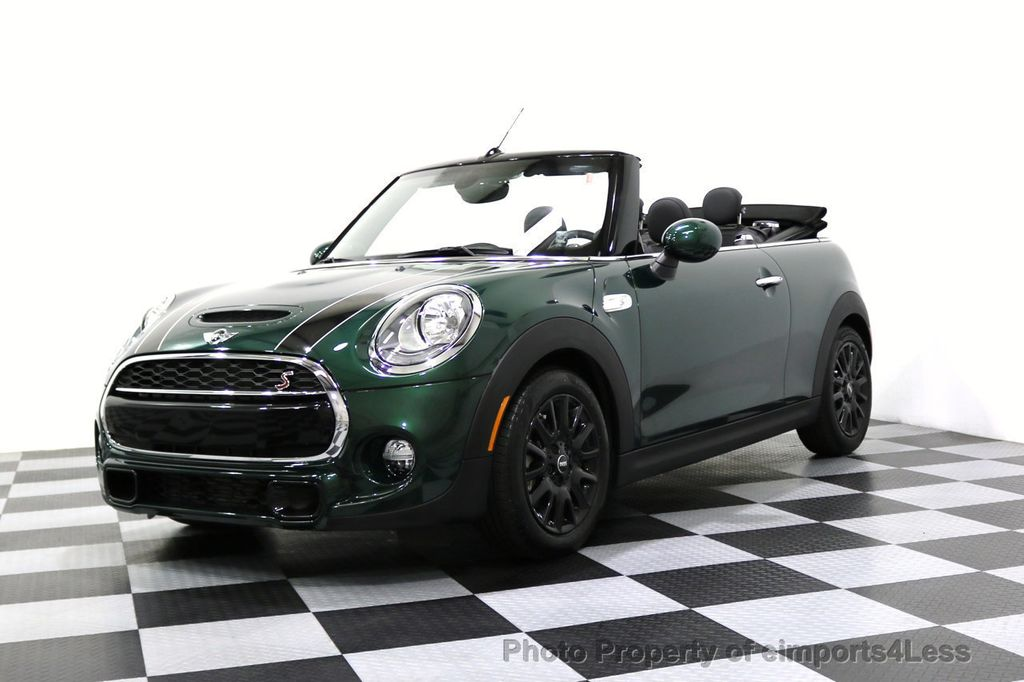 2017 Mini Cooper S Convertible Certified Cabriolet Wired Tech Navigation 17670961 50