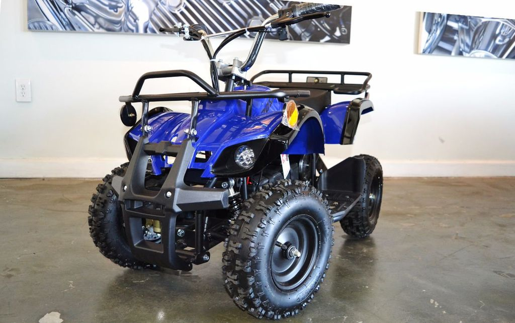 2017 Mototec QUAD ATV Electric Off Road Fun. Fully Assebled and Ready To Ride, Warrant - 16821479 - 0