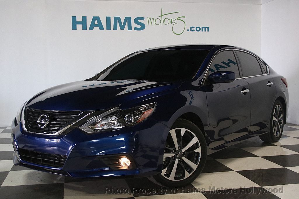 2017 Used Nissan Altima 2 5 Sr At Haims Motors Serving Fort