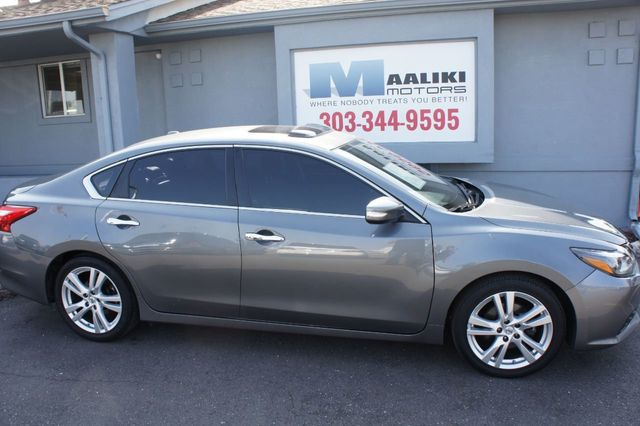Bmw Dealership Denver >> 2017 Used Nissan Altima 3.5 SR at Maaliki Motors Serving Aurora, Denver, CO, IID 17631474