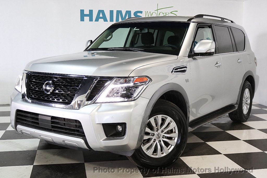 2017 Used Nissan Armada 4x4 SV at Haims Motors Serving ...