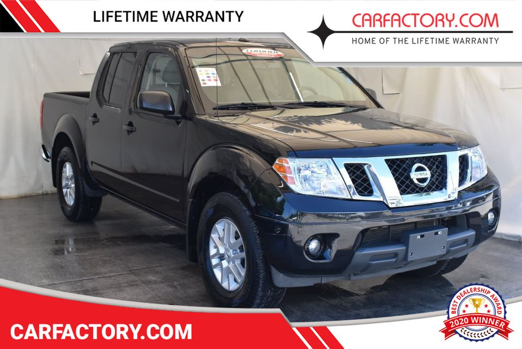 2017 Nissan Frontier 2017.5 Crew Cab 4x4 SL Automatic - 18093591 - 0