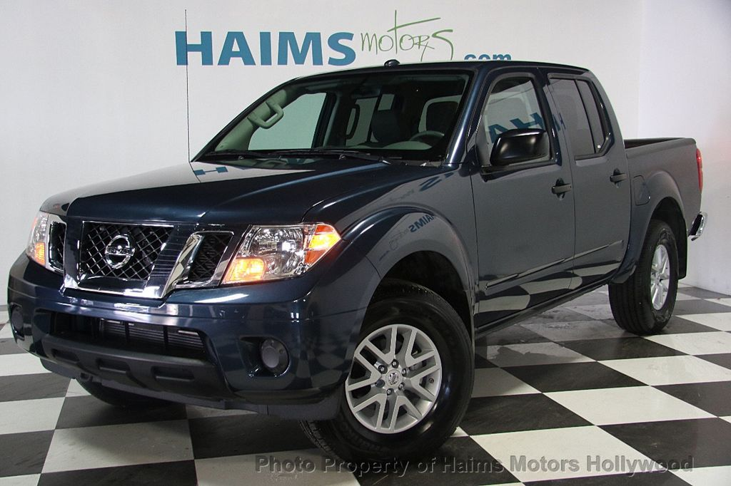 2017 used nissan frontier 2017 5 crew cab 4x4 sv v6 automatic at haims motors ft lauderdale. Black Bedroom Furniture Sets. Home Design Ideas