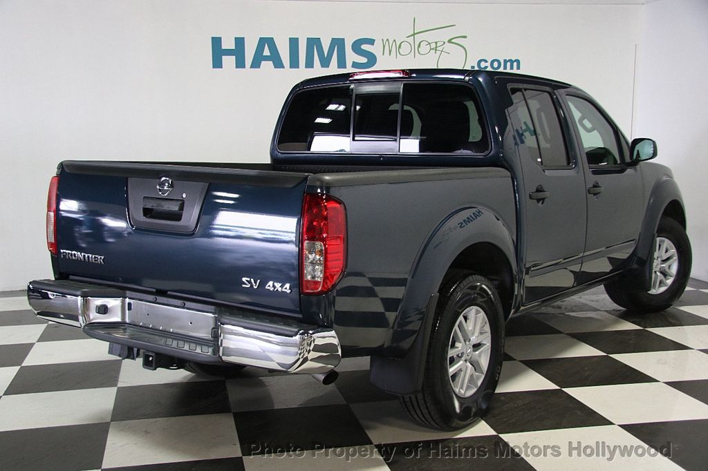 2017 used nissan frontier 2017 5 crew cab 4x4 sv v6 automatic at haims motors serving fort. Black Bedroom Furniture Sets. Home Design Ideas