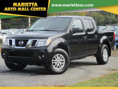 2017 Nissan Frontier 2017.5 Crew Cab 4x4 SV V6 Automatic Truck