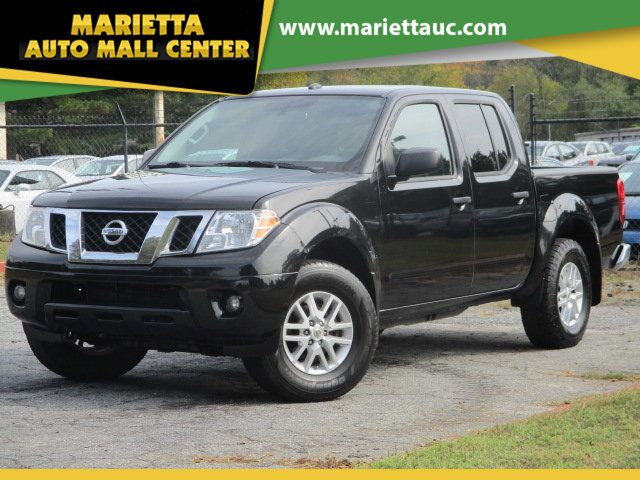 2017 Nissan Frontier 2017.5 Crew Cab 4x4 SV V6 Automatic