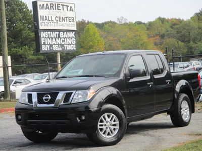 2017 Nissan Frontier 2017.5 Crew Cab 4x4 SV V6 Automatic - Click to see full-size photo viewer