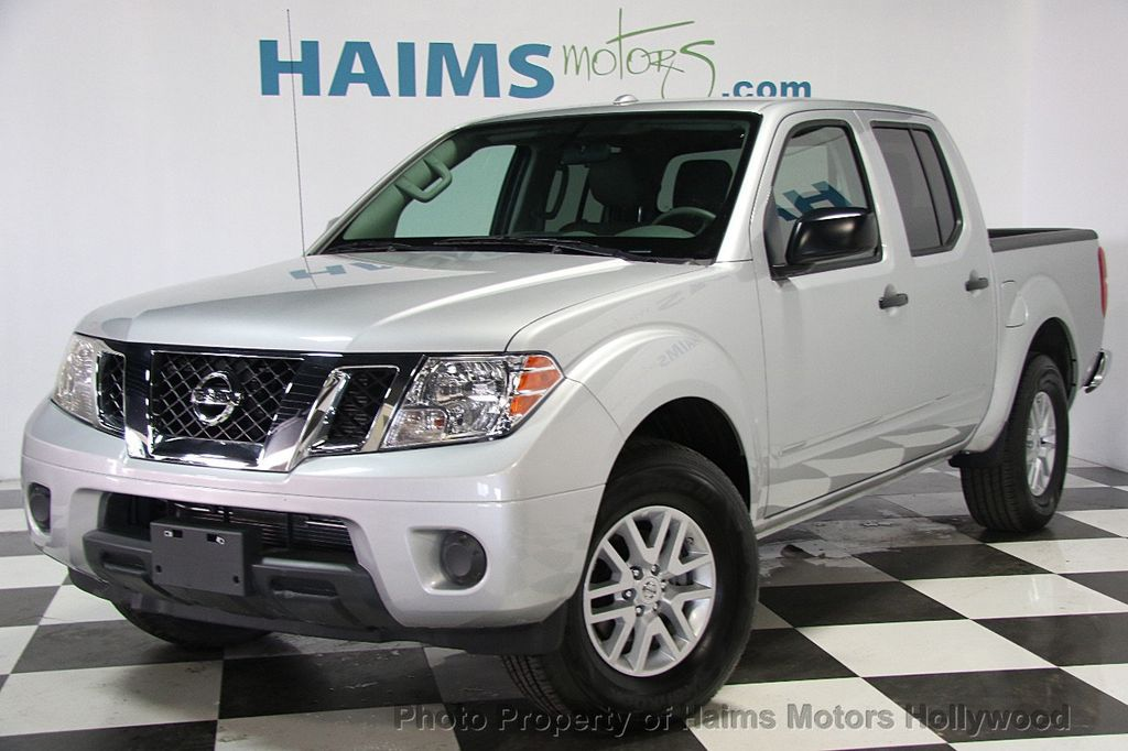 2017 used nissan frontier crew cab 4x2 sv v6 automatic at haims