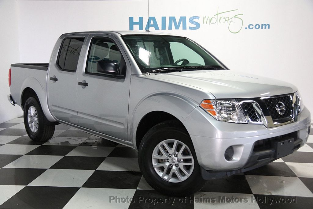 2017 Nissan Frontier Crew Cab 4x2 Sv V6 Automatic 16917108 3